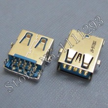 20pcs/lot 3.0 USB Jack Socket Connector for Lenovo Dell Samsung etc Laptop USB3.0 Port