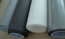 Free Shipping! 1.524mx3m Adhesive Rear Projection Screen film for Glass or acrylic sheet, projector film(China)
