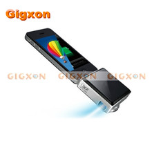 Gigxon i50D DLP Mini Projector LED Portable Projector Small Box for iPhone,i Pad,iPod Media Projector(China)