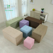 Multifunctional colorful folding Storage Sofa Stool Box