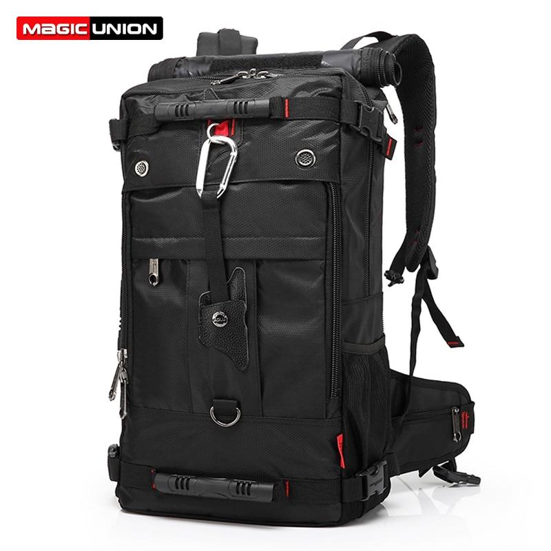 MAGIC UNION 20 inch Men Backpack Travel Bag Large Capacity Versatile Utility Mountaineering Multifunctional Waterproof Backpacks<br>