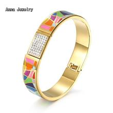 New Fashion Designer Colorful ENAMEL BRACELET,Women Favorite Narrow Bracelet With Pretty Color.Find Elegant Gift For Your Lover