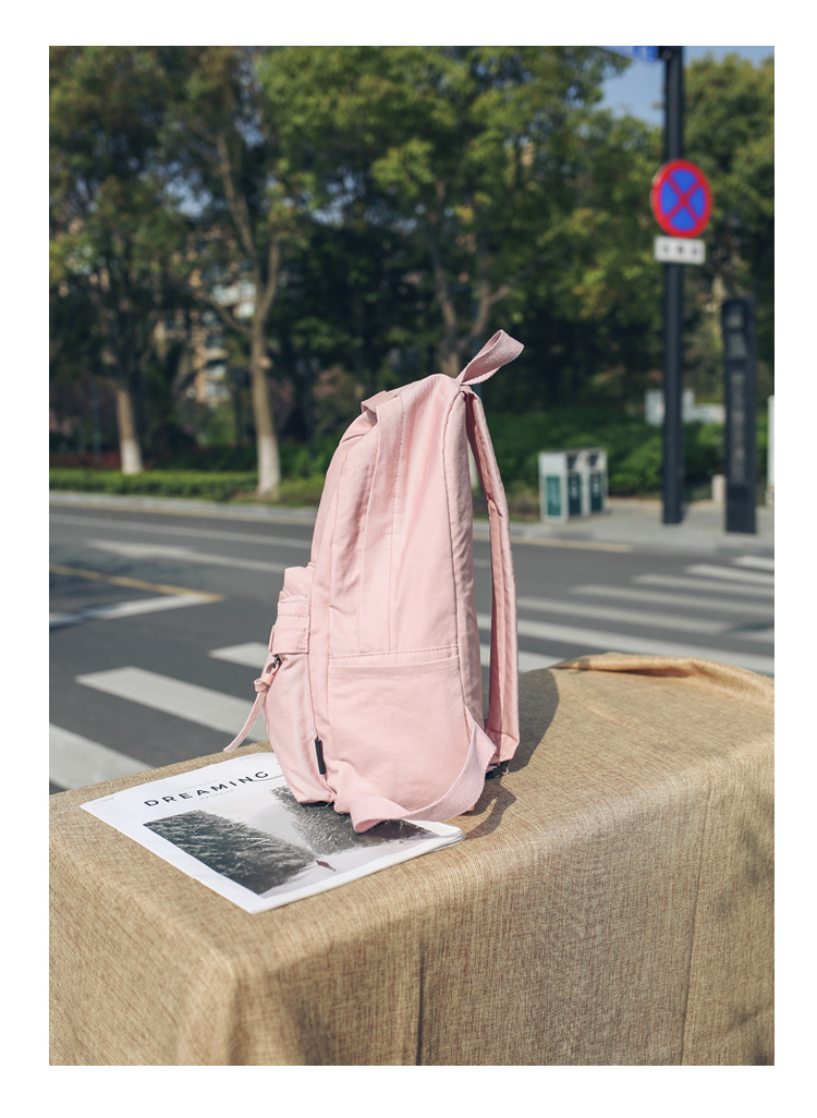 Menghuo High Quality Women Canvas Backpack Teenage Girls Leisure Backpack Bag Vintage Stylish Female School Bag Bookbag Mochilas (21)