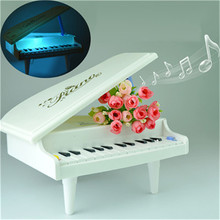 New Useful Baby Kid Light Piano Music Children Toys Piano Children's Birthday Presents  B# dropshipping