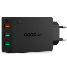 CRDC Mini Quick Charge 3.0 Wall Charger USB Charger Auto Travel Charging For iPhone 7 Galaxy S7 S6 Edge Xiaomi HTC LG EU Plug