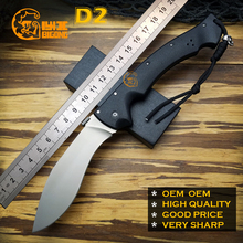 Very Sharp BIGONG  Camping Folding Knives D2  Cold Steel  Kraton handle Camping Outdoor Survival Knives Pocket Tools OEM OEM