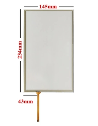 The 10.1-inch 234*145  resistance-type touch screen industrial screen plate touch screen, free delivery<br>