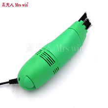 High Quality Protable Mini USB Vacuum Keyboard Cleaner Dust Collector Laptop(China)