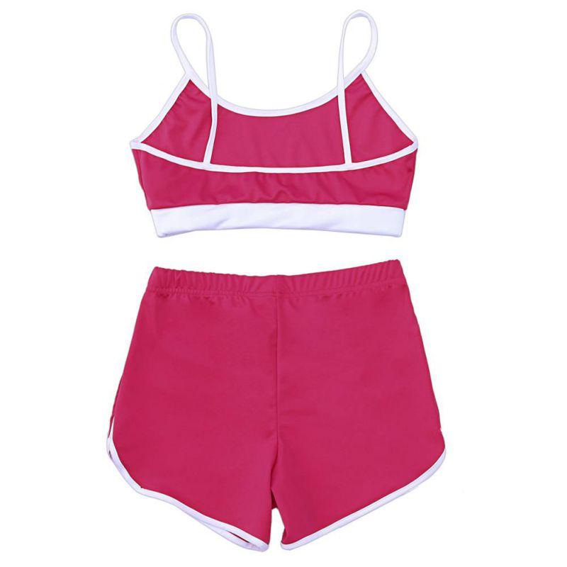 Sport Suit Tracksuit Bra+Short Sportswear 19