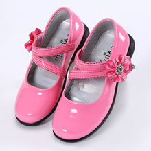 2017 New Summer Cool Girls Sandals Fashion Korean Princess Shoes PU Leather Female Child Single shoes Kids Sandals Size 27-38