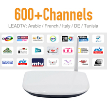 Quad Core Android Iptv Box Receiver Free Account Arabic Spain Indian French IPTV Channels Film VOD Dalletek Tv - SHAE 3C Store store