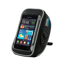 100pcs/lot Touchscreen Bicycle Phone Case Cycling Top Tube Bag Panniers Mountain Bike Handlebar Bycicle Bag Pouch