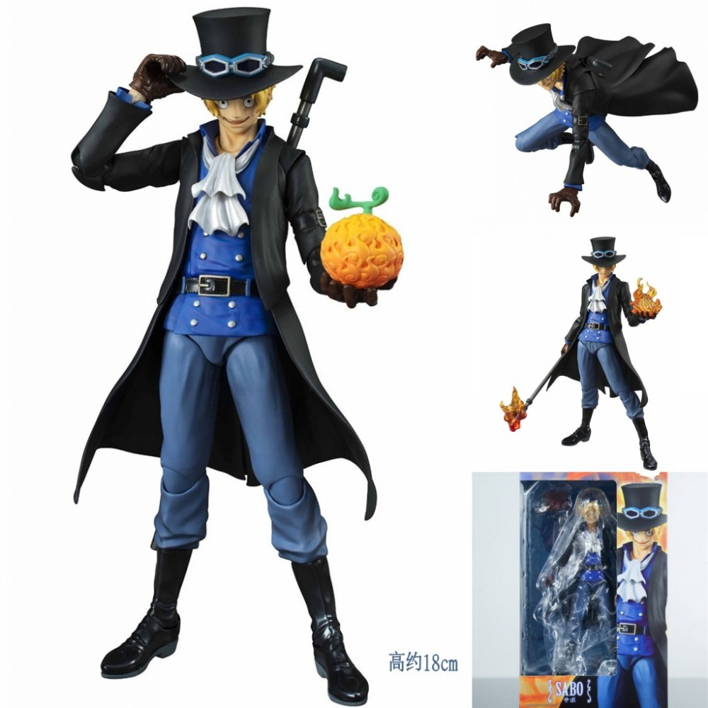 18cm One Piece variable action heroes VAH Saab Anime Figure Action S.H.Figuarts Model Toys Cartoon Collectible gift Collection <br>