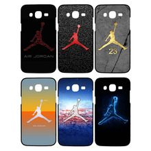 Fashion basketball superstar Michael Jordan logo phone cases for Samsung Galaxy S6 edge case for Samsung S6edge black cover