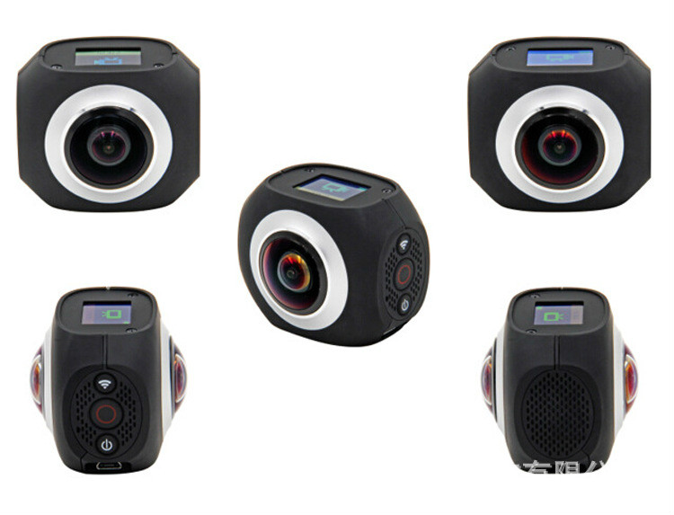 New G720 720D Panoramic Camera VR High Definition Dual Lens Wireless Sport Virtual Reality WIFI Outdoor Mini Camera