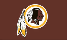 Washington Redskins logo  Flag 3x5FT NFL  banner150X90CM 100D  Polyester brass grommets custom flag, Free Shipping