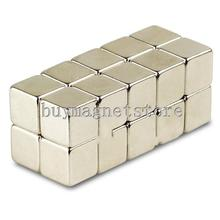 10*10*10 1pcs Strong Block Cube Magnets 10mm x 10mm x 10mm Rare Earth Neodymium N35 ndfeb Neodymium  magnets