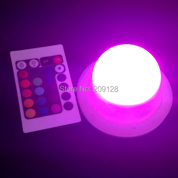 Waterproof ip66 Induction cordless rechargeable wonderful color change led lighting units<br>