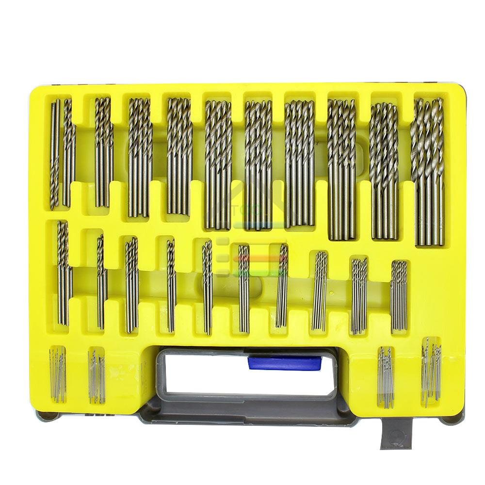 New 150PC 0.4-3.2mm HSS Mini Micro Power Drill Bit Set Small Precision Twist Drilling Kit with Carry Case for PCB Crafts Jewelry<br><br>Aliexpress