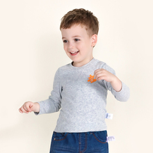 balabala Children spring T shirt for Boys cotton pajamas Clothes 2017 Brand Baby Boys Autumn Tops Tee Shirt T-shirt for kids(China)