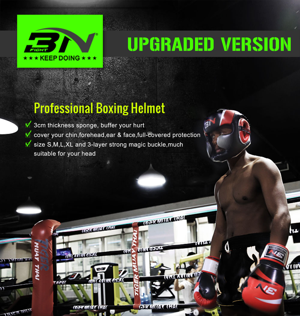 Professional Boxing Helmet Muay Thai / Boxing Headgear / MMA training
