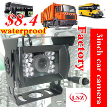 CCD BUS Truck Camera sony IR lights Rear View Reverse backup Camera rearview parking ahd video cable Night vision Waterproof(China)
