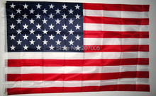 Free Shipping NEW 90x150cm American Flag 100% Polyester US Flag, Flag of United States the Stars and the Stripes(China)
