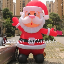 Inflatable Santa Claus For Christmas Decoration With Good Price(China)