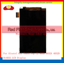 "High Quality 4.0"" For Alcatel One Touch Pop C2 4032 4032A 4032D OT4032 Lcd Display Screen Free Shipping+Tracking Code"