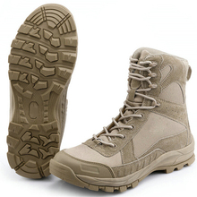 Airsoft Shoot US Special Forces Tactical Boots Combat Desert Leather Boots Military Fans Black Tan Army Shoes Hunting training