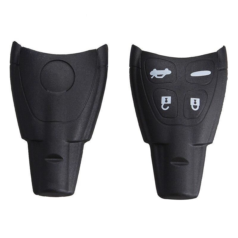 Mayitr Car Styling 4 Buon Remote Key Fob Shell Case+Key Blank For SAAB 9-3 93 2003-2009