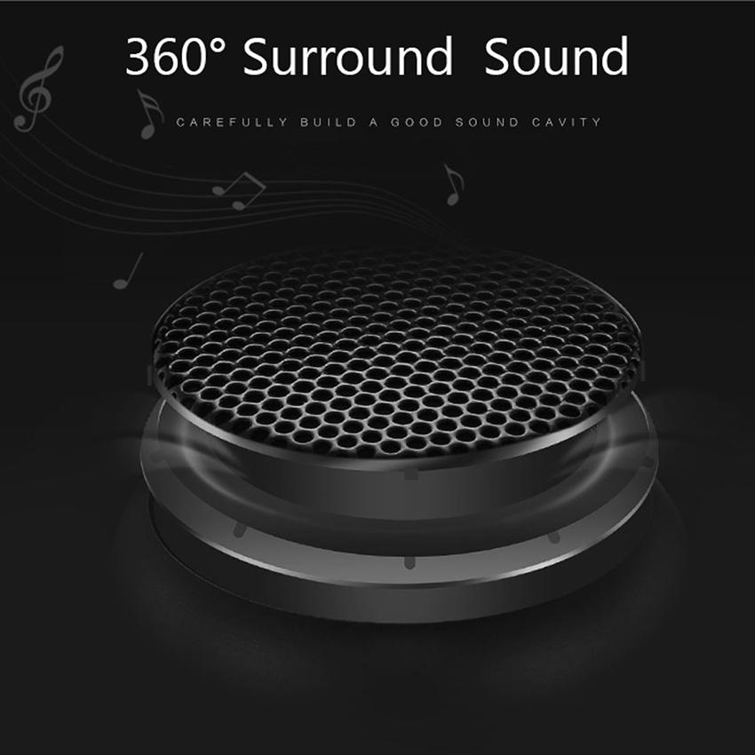 Aimitek Mini Wireless Speaker Small Pocket Size black-6