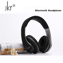 Buy Jkr Stereo Casque Audio Auricular Cordless Wireless Blutooth Headphones Bluetooth Earphone Phone Big Headset Head Sluchatka for $18.59 in AliExpress store