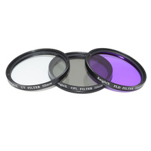 KnightX 49mm 77mm 58 52mm Filter UV CPL FLD Circular Kit Circular Polarizer with  for Nikon Canon Pentax Sony DSLR Camera 5D 6D