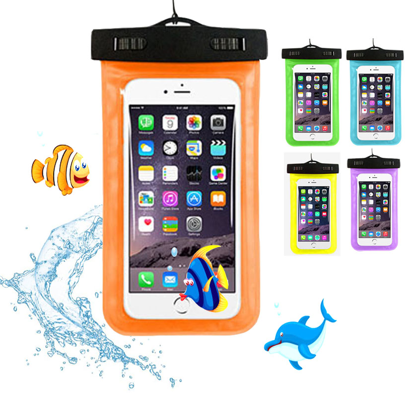 cunzhi Clear Universal Waterproof Pouch Diving PVC Case HOMTOM HT50 Bag