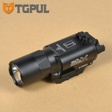 TGPUL Tactical SF X300 Ultra Pistol Gun Light X300U 500 Lumens High Output Weapon Flashlight Fit 20mm Picatinny Weaver Rail(China)