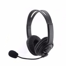 2016  Wired Game Live Gaming Headset Music Studio Stereo Ear Headphones Earpphones Microphone For PS3 PC Laptop Media Player