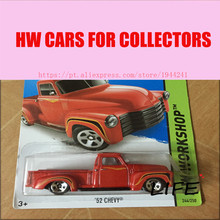 Toy cars Hot Wheels 1:64 53 Chevy Car Models Metal Diecast Cars Collection Kids Toys Vehicle For Children Juguetes 34(China)