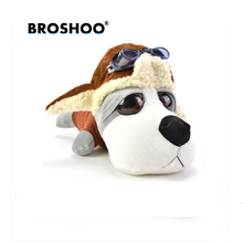 BROSHOO 21*11.5*10cm For Car Creative Air Freshener Cute Car Air Freshener Cartoon Dog Bamboo Charcoal Bag Car Styling(China)