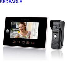 Home Color Video Door phone DoorBell Intercom System w/ 7 Inch TFT Touch Key Screen Monitor Night Vision IR Outdoor Camera