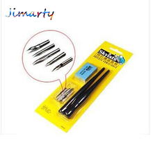 Comics pen Dip pens set (5nibs+eraser+2handles G/D/Maru)Cartoon pen value magna art pen nip sketch art supplies DP025(China)