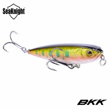 SeaKnight SK013 Floating Pencil Lures 1PC 8cm 9g Topwater Artificial Hard Bait 3D Eyes BKK Hooks Equipped 5 Colors Fishing Lure