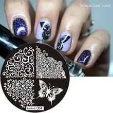 Classic Leaves Butterfly Flower Wave Nail Art Stamp Template Image Plate hehe004, Free shipping