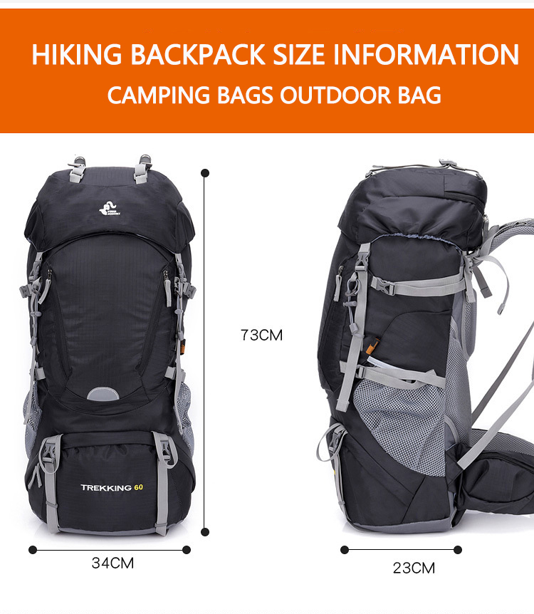 Camping Week's Backpack KNIGHT 9