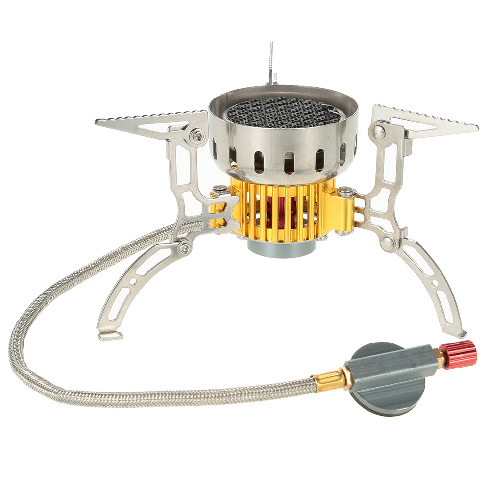 Mini Ultralight Outdoor Stove Infrared Camping Stove Portable Furnace Collapsible Windproof Gas Stove for Cookout Picnic(China (Mainland))