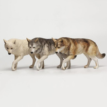 1:6 Scale Wolf Figure Animal Statue Model Collections Action Figure Accessories