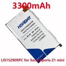 Hsabat 3300 мАч lis1529erpc батарея мобильного телефона для sony xperia z1 mini z1mini d5503 z1 compact m51w