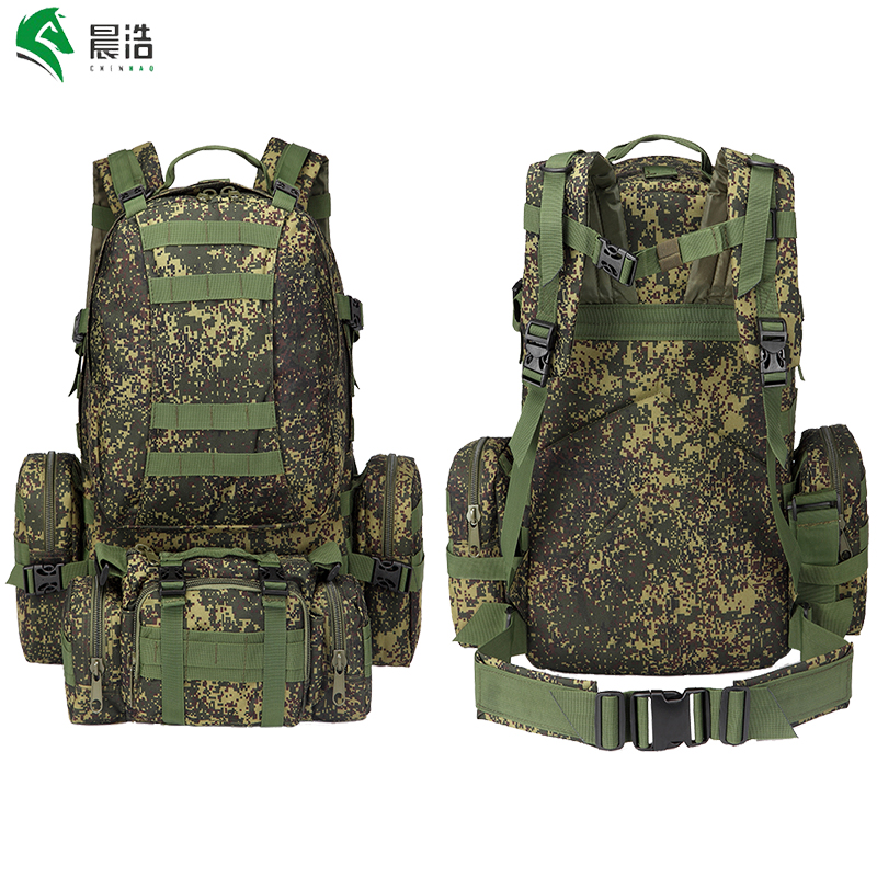 55l waterproof oxford molle backpack camping rucksack bag tactical assault military 50l  -  Chenhao Tourism Co.,LTD Store store