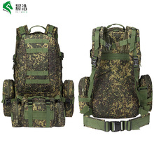 55l waterproof oxford molle backpack camping rucksack bag tactical assault backpack military backpack 50l tactical backpack(China)