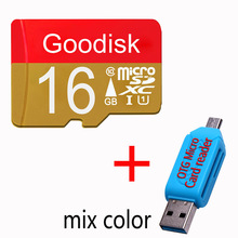 Goodisk Micro SD 128GB 64GB 32GB 16GB class10 TF memory flash card microsd 8GB class6 Original Product free shipping 32 gb +gift(China)